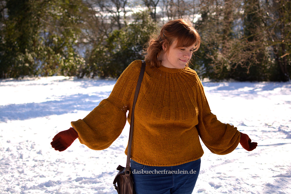 Pulloverim Schnee