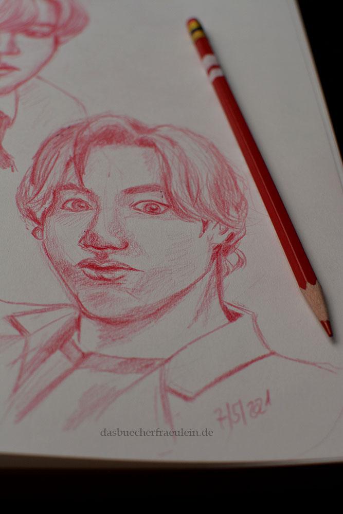 Jungkook BTS Zeichnen